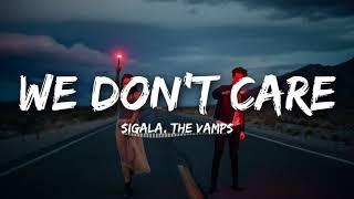 We Don't Care ringtone free download - Sigala, The Vamps | English ringtone