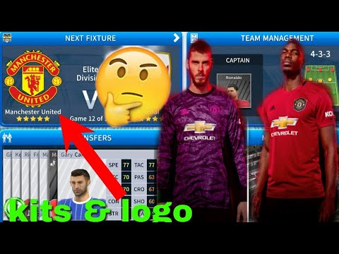 How To Import Manchester United Kits & Logo | Dream League Soccer 2019.