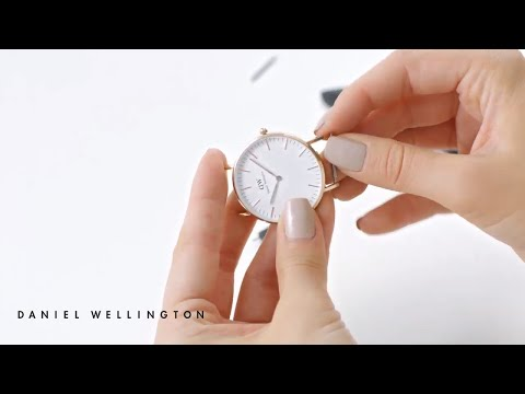How to change your strap from Leather to Nato - Daniel Wellington