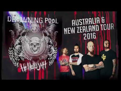 Hellelujah!  Drowning Pool is coming to Australia & NZ
