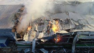 Крупный пожар на складе туалетной бумаги в Волгограде(, 2018-11-19T14:27:51.000Z)