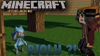 ACHAMOS UM RIOLU - Pixelmon #8 ( Minecraft )