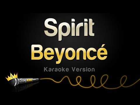 "Beyoncé - Spirit From Disney's ""The Lion King"" (Karaoke Version)"