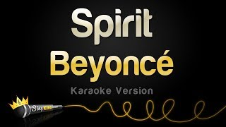"Download Beyoncé - Spirit from Disney's ""The Lion King"" (Karaoke Version)"