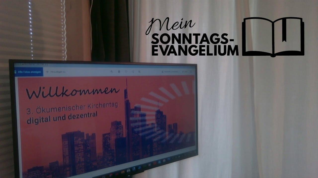 Mein Sonntagsevangelium: Gemeinschaft per Datenleitung