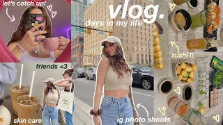 VLOG: skin care, friends, cooking, future plans, & ski trip ♡