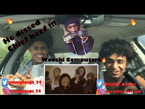 IS THIS THE BIGGEST DISS OF 2018!!!!! WOOSKI COMPUTERS REMIX ( REACTION IN THE BOX!!!!)
