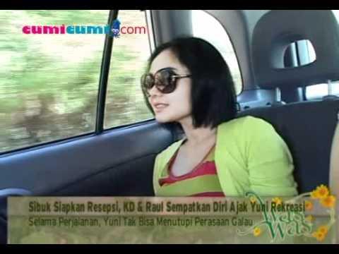Liburan Di Dili, Yuni Shara Terbayang Wajah Raffi Ahmad