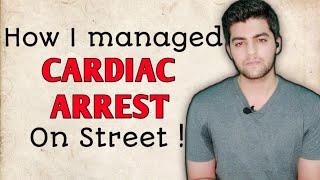 CARDIAC ARREST on Street   How to manage sudden Cardiac Arrest   Dr. Akshay Kewlani