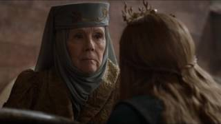 Margaery sneaks Olenna a drawing of a rose - Game of Thrones S06E07