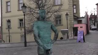 Чехия, Прага, отель Алладин,Фонтан«Писающие мужчины»