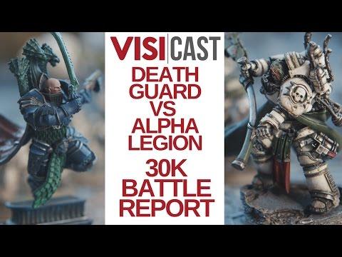 Battle Report: Warhammer 30k | Alpha...