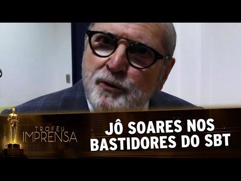 Troféu Imprensa 2017 - Jô Soares se emociona com passagem pelo SBT