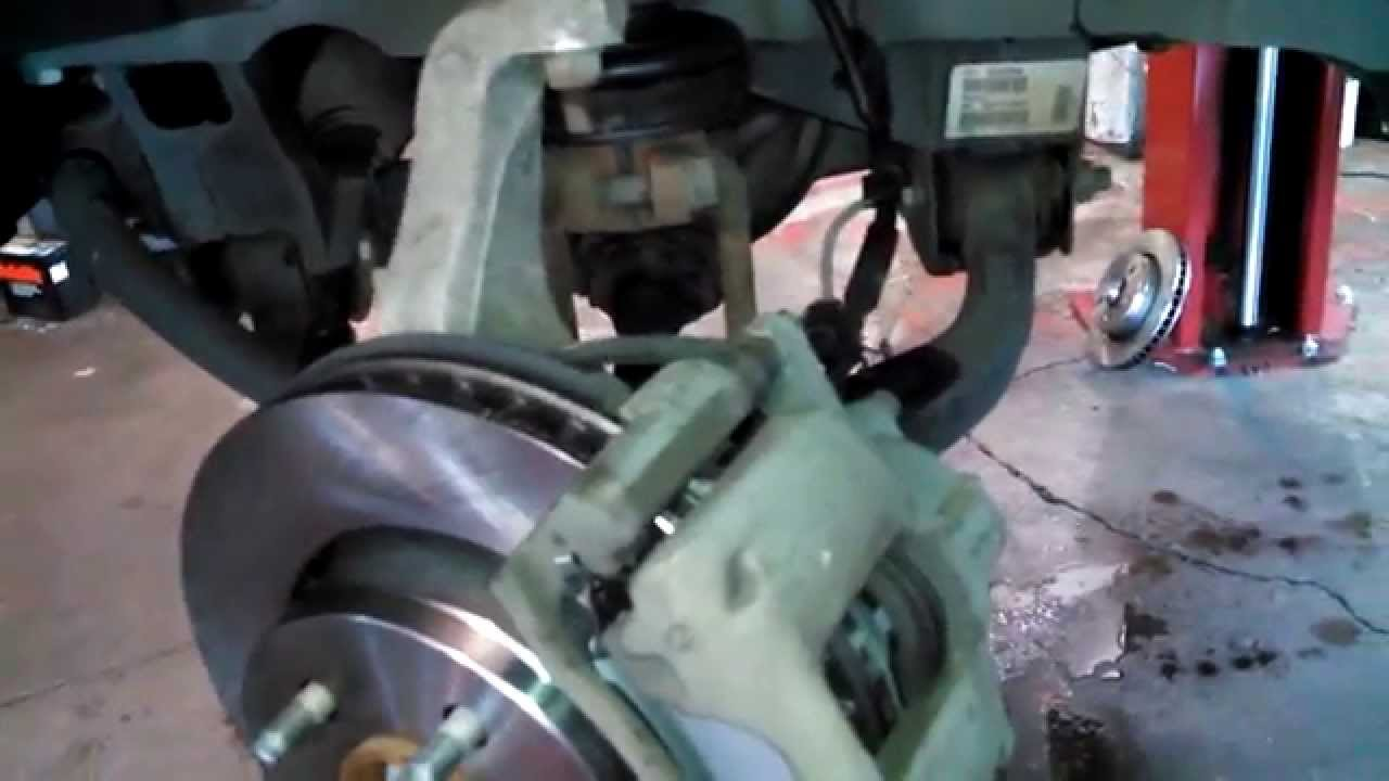 Service Manual How To Replace Brake Pads On A 2007 Subaru