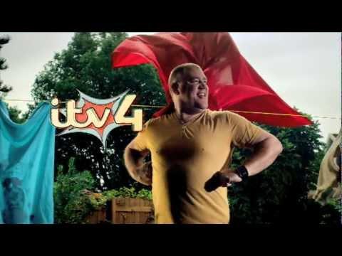 ITV4 2013 Ident: Laundryman!