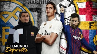 Así podría beneficiar al Barcelona la posible salida de Varane del Madrid | Telemundo Deportes