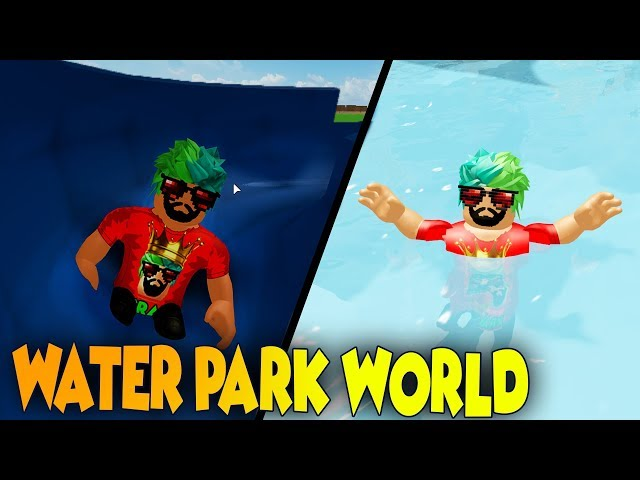 SU KAYDIRAĞI DÜNYASI YAPMAK | BÜYÜK KAZA !!!| ROBLOX Water Park World [Beta]