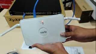 SYS2U.COM - แกะกล่อง ZyXEL NWA3160-N - 300 Mbps Business Gigabit AP + PoE