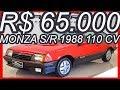 PASTORE R$ 65.000 #Chevrolet Monza S/R 2.0 S 1988 Hatchback Vermelho Bonanza Álcool 110 cv 17,3 kgfm