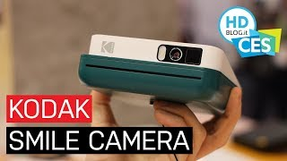 Kodak SMILE e SMILE CLASSIC, le foto prendono vita sullo smartphone | CES 2019