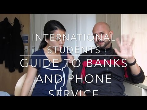 International Students Startup Guide. Part 2: banks and mobile phone service