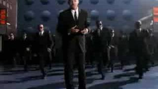 Men in black dance