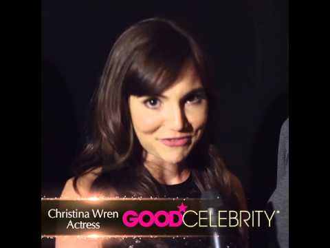 Christina Wren Gives a Quick Shoutout to Good Celebrity