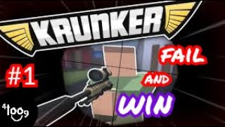 My first time on krunker (fail and win compilation) #1