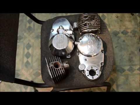 Полировка деталей двигателя