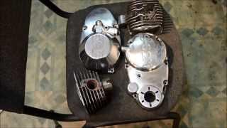 видео Полировка двигателя мотоцикла