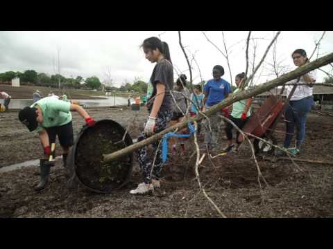 IMPACT Students Volunteer @ Exploration Green