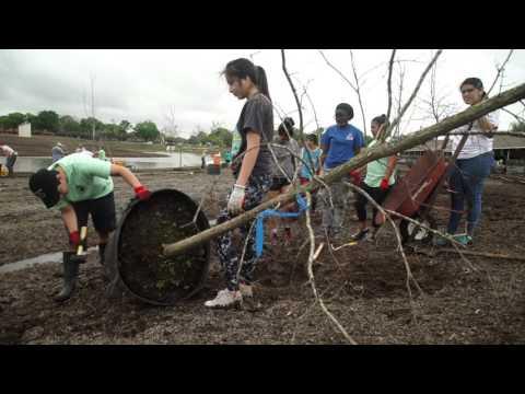 IMPACT Students Volunteer @ Exploration Green