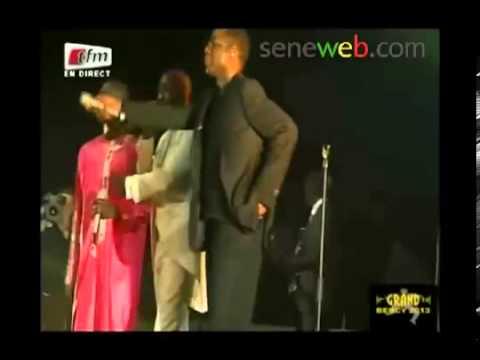 Bercy 2014, Pape Diouf, Salam Diallo, pape Thiopet Rejoignent Youssou Ndour Sur Scène