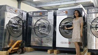 Giá máy giặt công nghiệp Tại tổng kho máy giặt công nghiệp THE ONE