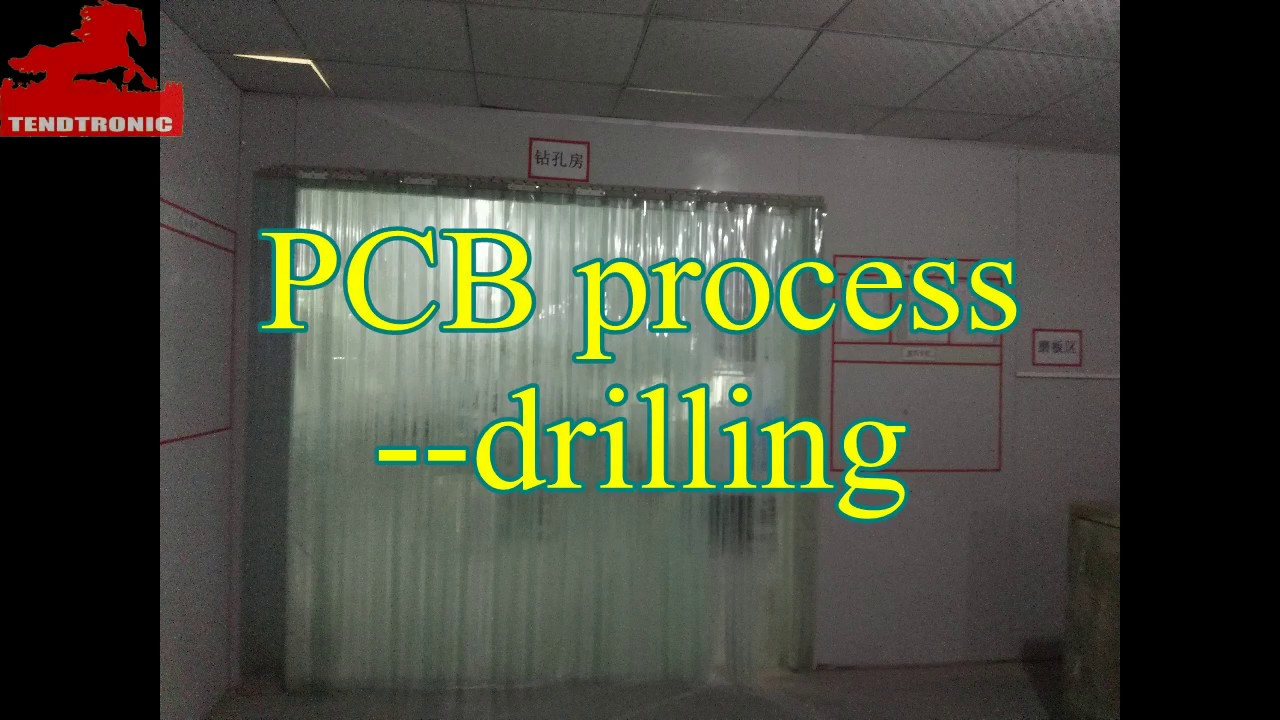 drilling tendtronic pcb board manufacture process of drilling youtube