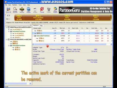 Mark Partition As