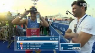 Javier Gomez Noya The world Champion Triathlon is back. ITU Series Abu Dhabi 2017