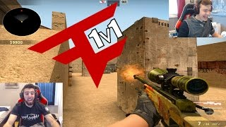 CS:GO 1v1 - FaZe Blaziken vs FaZe Apex! (KNIFE WINNER)