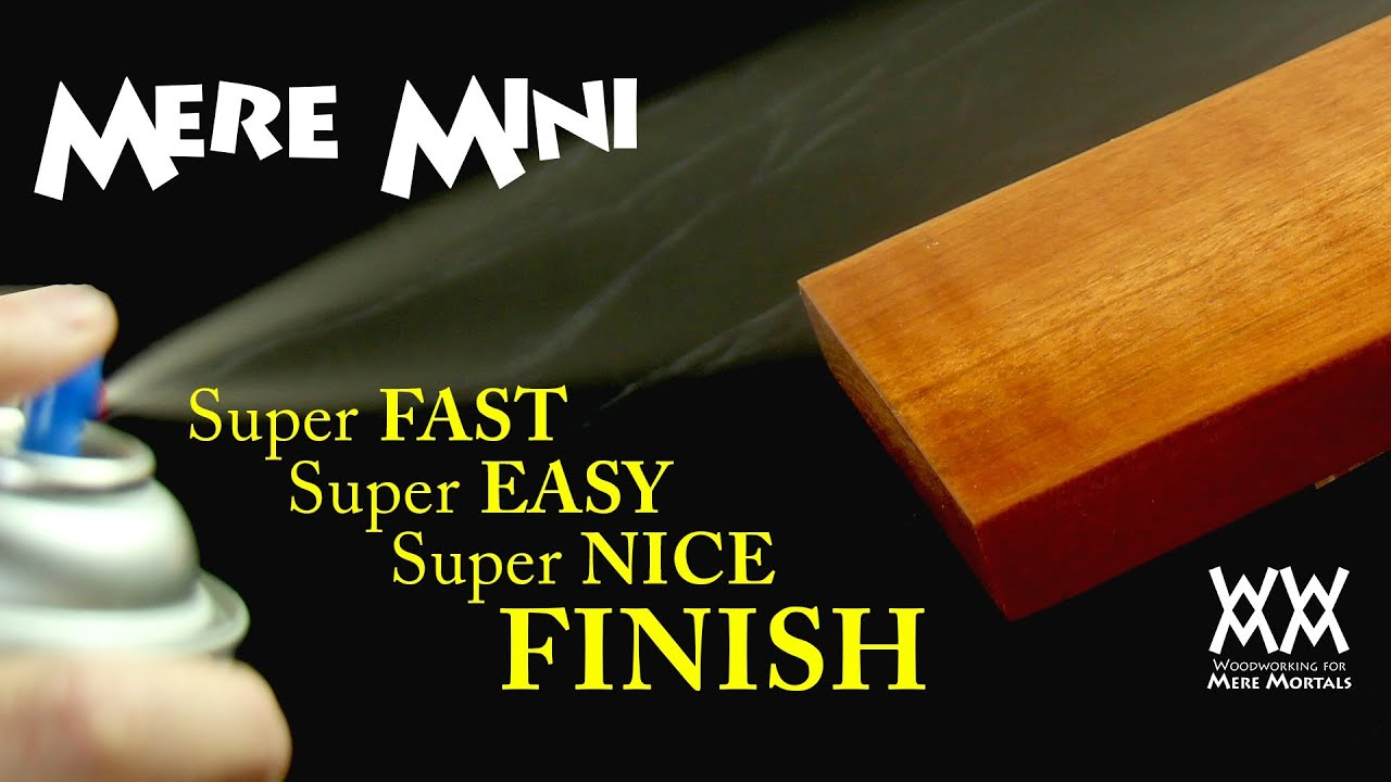 The Secret To Applying The Fastest Easiest Wood Finish Mere Mini