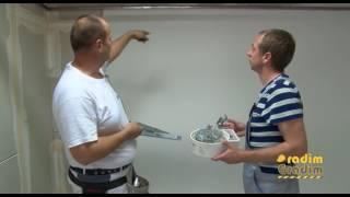 Knauf - Spustanje plafona - Radim Gradim - (Produkcija Kruna )