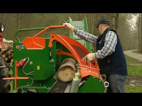 Brennholz selber machen mit dem Sägespalter SpaltFix S-280 |POSCH