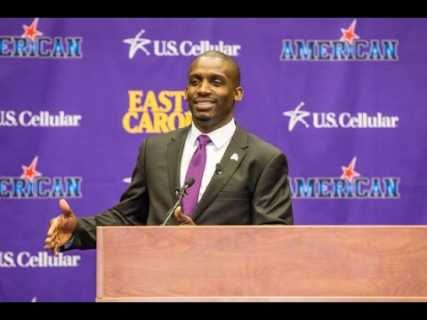 East Carolina Head Coach Scottie Montgomery Brings Up Tempo Offense and Defense