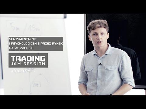 Sentymentalnie i Psychologicznie Przez Rynek, Rafał Zaorski, #9 Trading Jam Session 16.07.2015