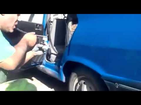 Insane Car Spraying Technique In Romania HD