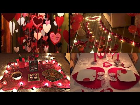 Surprise Birthday Decoration Ideas At Home Surprise Decoration For Husband Romantic Room Decoration Youtube
