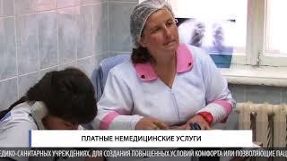 Платные немедицинские услуги