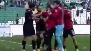Bursaspor: 1 - Amed Sportif: 2 ( Türkiye kupasi özet )