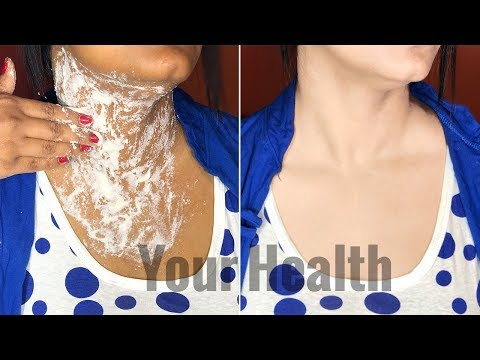 How to Whiten Dark Neck Instantly with this 2 Easy Step (100% Result)