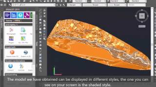 How to importa a Contour Lines file  from Pix4Dmapper