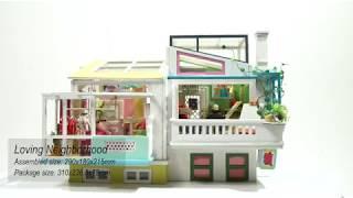 New Arrival | Teddy Theme DIY house-TDW05 Loving Neighborhood